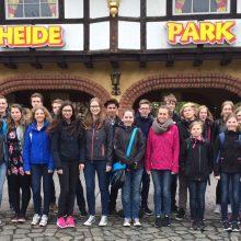 Stadtkapellen-Jugend im Heide Park Soltau