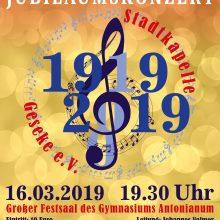 100 Jahre Stadtkapelle Geseke – Jubiläumskonzert