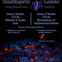 Stadtkapelle geht auf Weihnachts-Tour