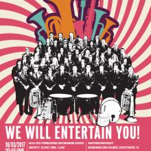 We will entertain you! – Frühjahrskonzert 2017