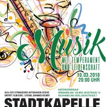 """Frühjahrskonzert """"Musik mit Temperament und Leidenschaft"""""""