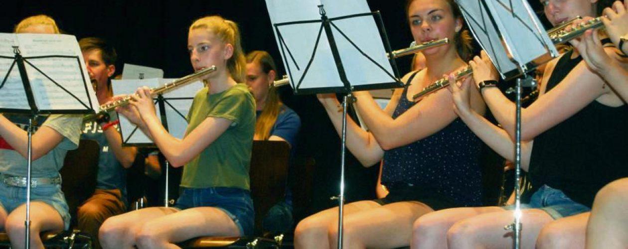 Junge Musiker zeigen Talent