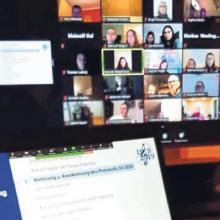 Virtuelles Handheben: Vorstandswahl via Video