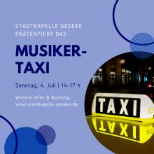 Das Stadtkapellen-Musiker-Taxi