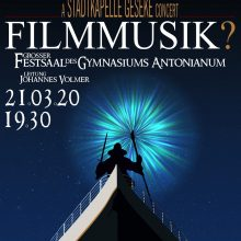 """""""Filmmusik?"""" – Frühjahrskonzert 2020"""